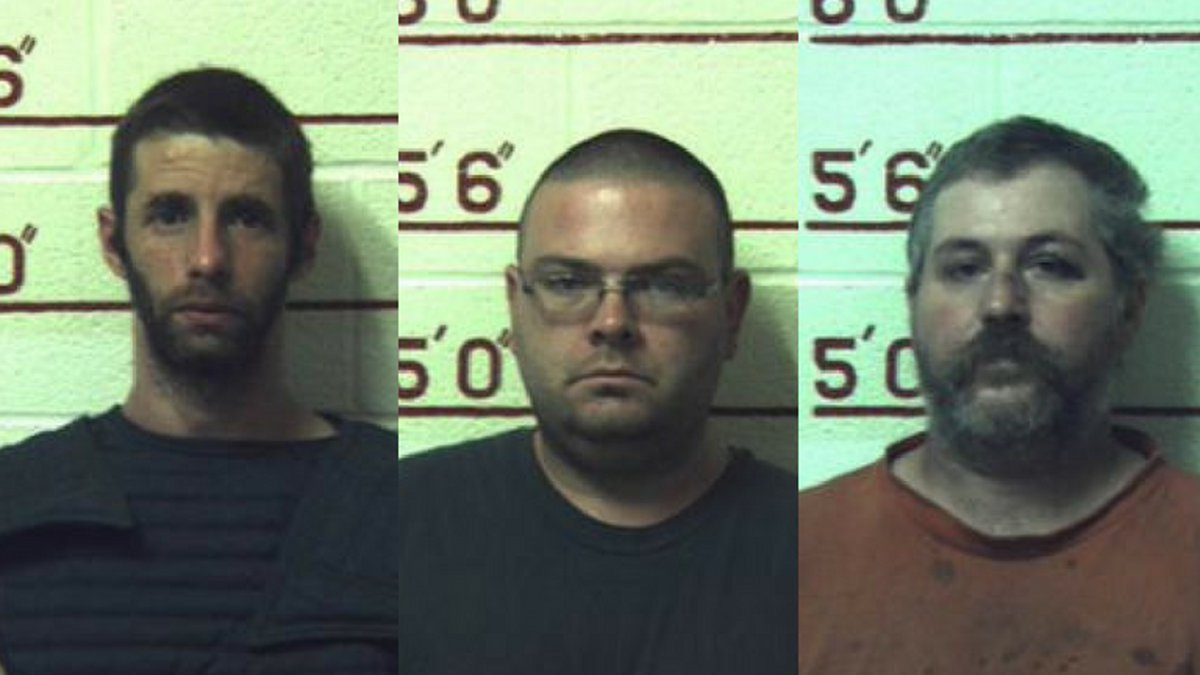 Marc Measnikoff, Matthew Brubaker, and Terry Wallace (Source: Clearfield County District...