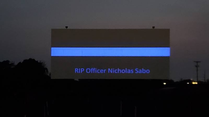 North Ridgeville Aut-O-Rama honors Cleveland Police Officer Nick Sabo after his funeral