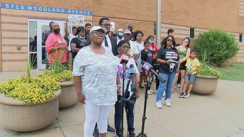 The family of Arthur Keith reacts to the announcement that the CMHA officer who killed the...