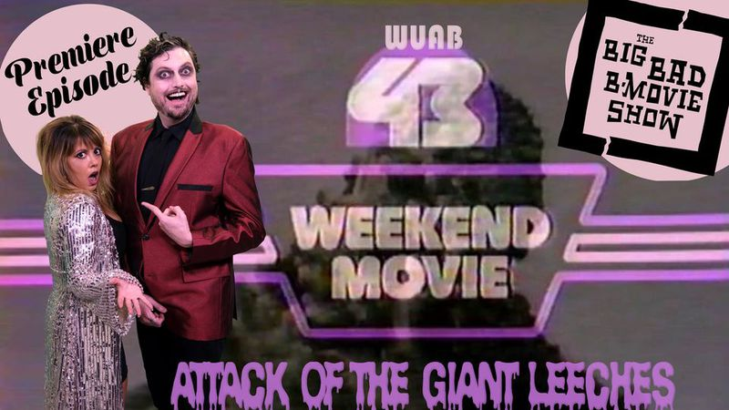 """It's true! """"The Big Bad B-Movie Show"""" is coming to a TV set near you on Saturday, Oct. 17 at 8..."""