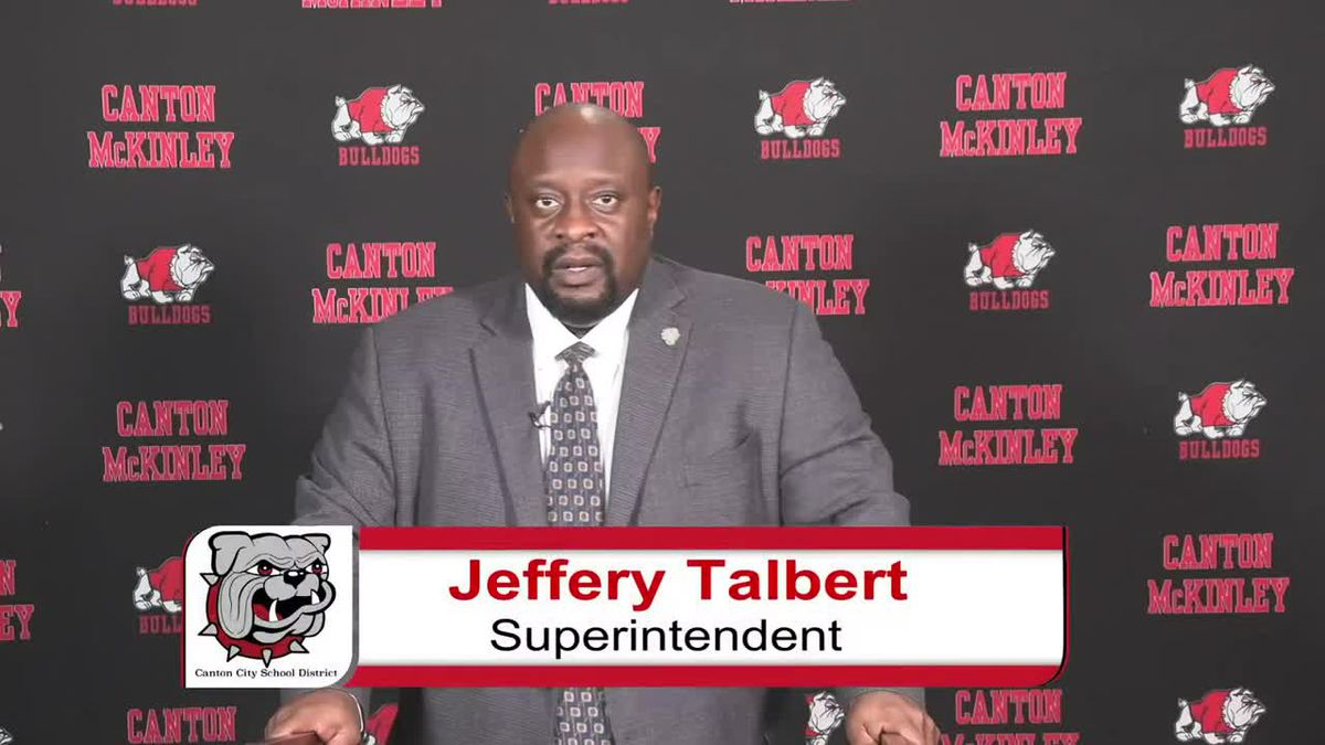 Superintendent Jeffrey Talbert gives statement over football incident