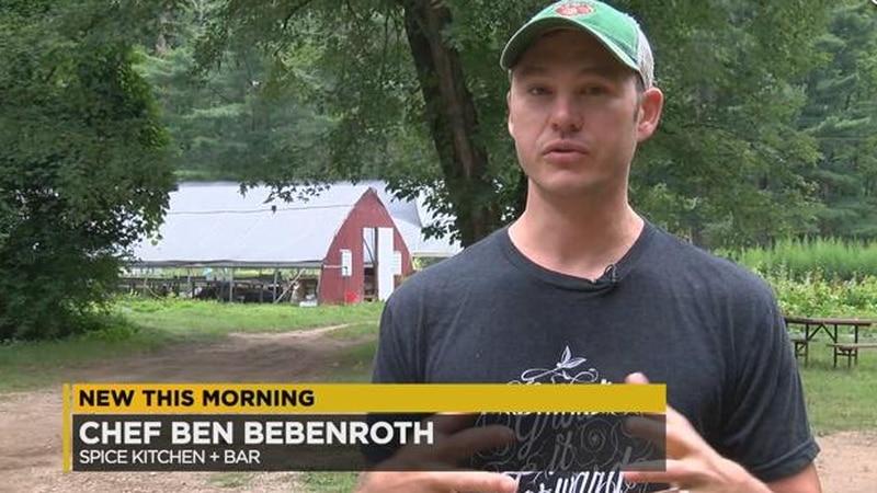 Brecksville chef BenBebenroth was featured on CBS Sunday morning. (Source WOIO)