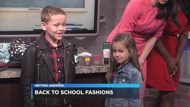 Back-to-school fashions