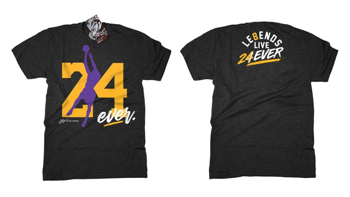 """The """"24 Forever"""" shirt"""