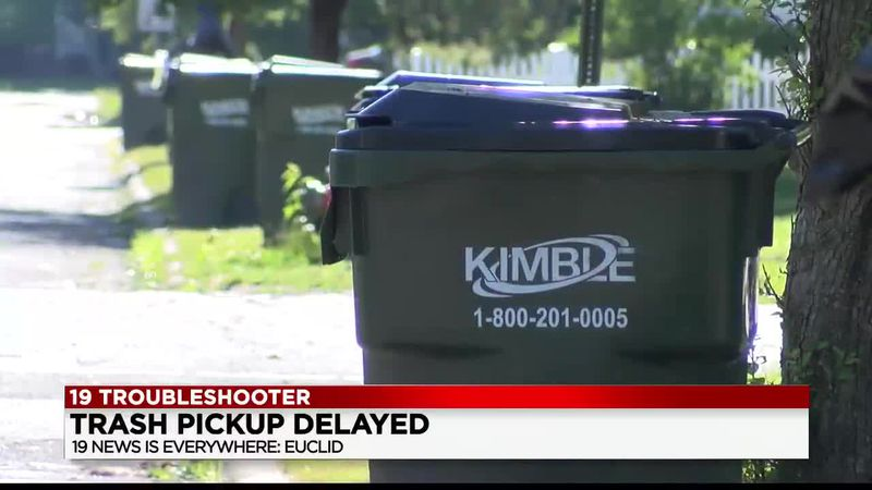 The 19 News Troubleshooter is searching for answers Sunday as trash troubles plague a Euclid...