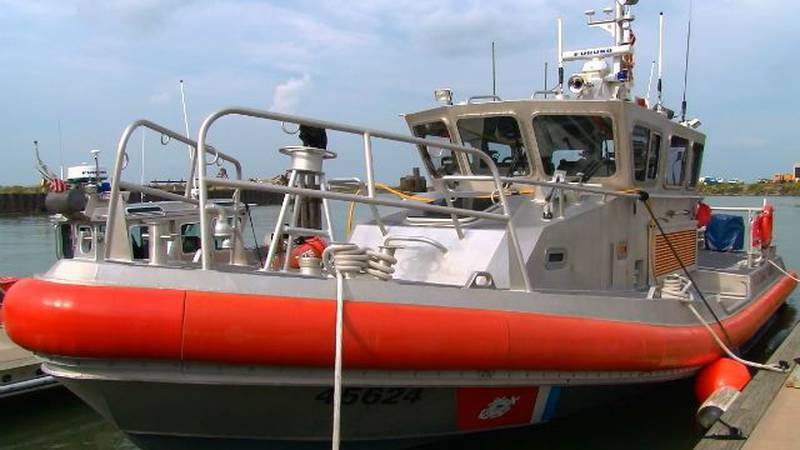 A Coast Guard patrol boat that helps keep Lake Erie waters safe. (WOIO)