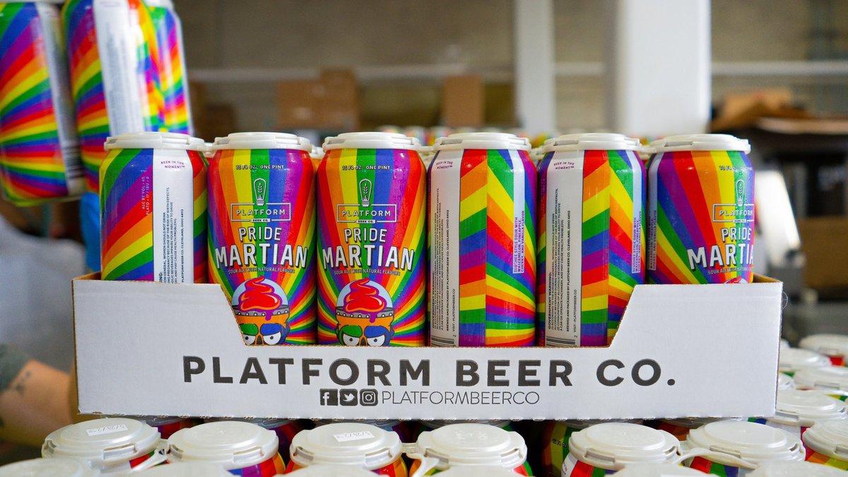 Pride Month special release: Platform Beer Co. announces Pride Martian sour ale