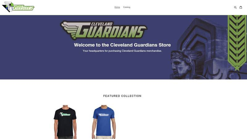 The Cleveland Guardians roller derby team launched a new website selling t-shirts amid the...