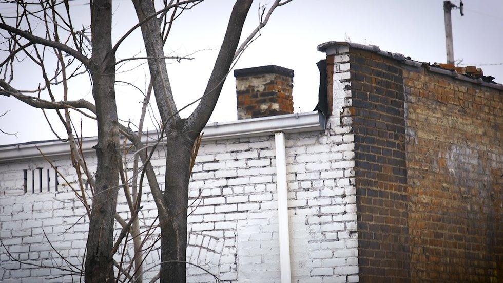 A man was found dead in a chimney in 1999.