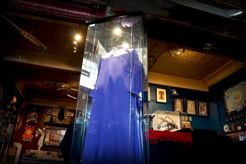 The Buckland Museum of Witchcraft & Magick is a museum of items collected by Raymond Buckland ...