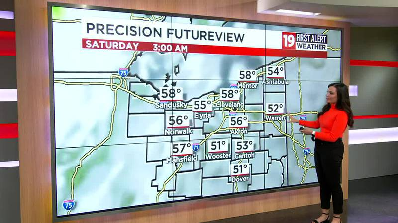 Northeast Ohio weather: Warmer on Friday, some rain on the way for Saturday