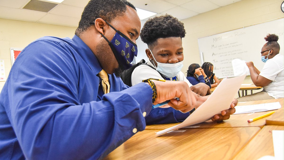 Black male teachers in Cleveland-area schools call for more diversity in educational system.