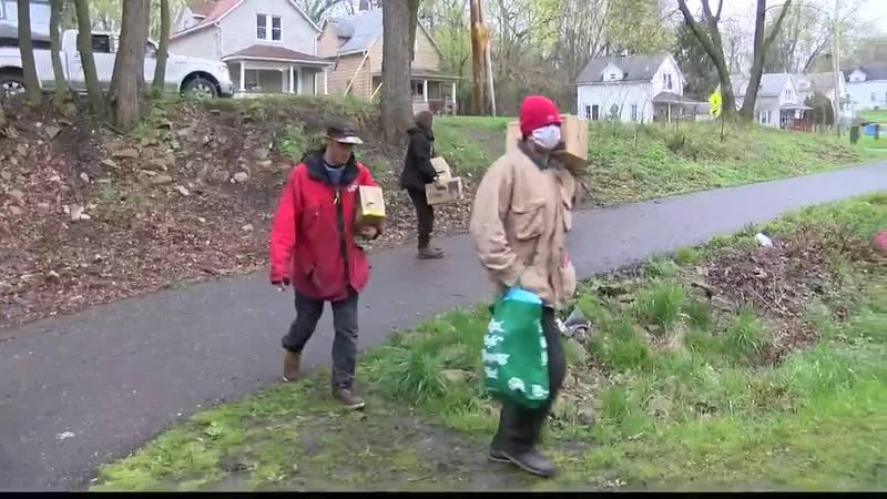 Ohio's homeless population coping with coronavirus