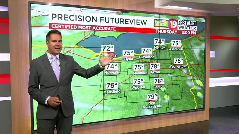 Northeast Ohio weather: A taste of Fall tonight; storms return this weekend