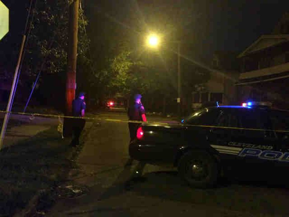 Woman and 3-year-old shot on Cleveland's east side around East 113th and Union. (Source: WOIO)