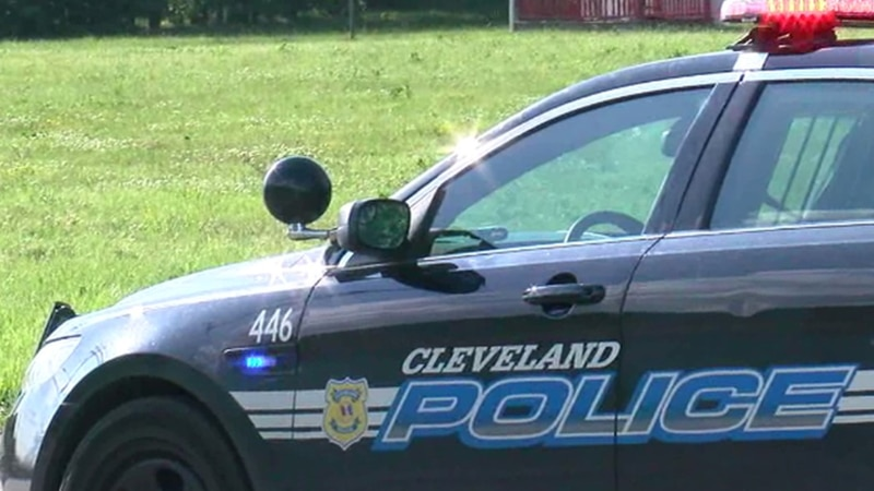 The Cleveland Police Department is still looking for a male suspect after a woman was shot and...