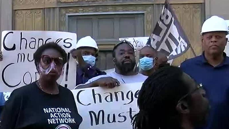 Black construction workers demand Sherwin-Williams to keep promises, include them in...