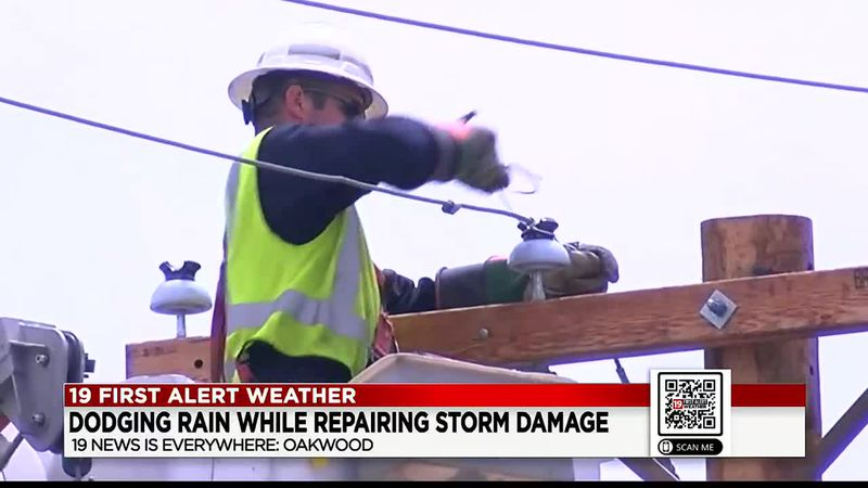Storm damage shuts down roads & cuts off access to some businesses Monday