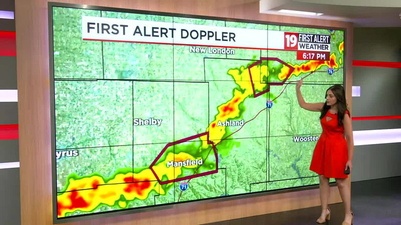 Northeast Ohio weather: Still humid with more slow-moving showers, thunderstorms