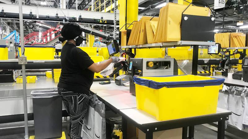 Amazon is currently looking for more than 150,000 new employees, making it hard for other...