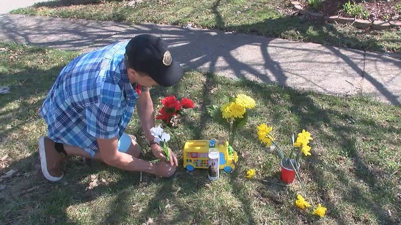 How can you help your child express his grief after the tragic death of a 5 year old boy in Parma