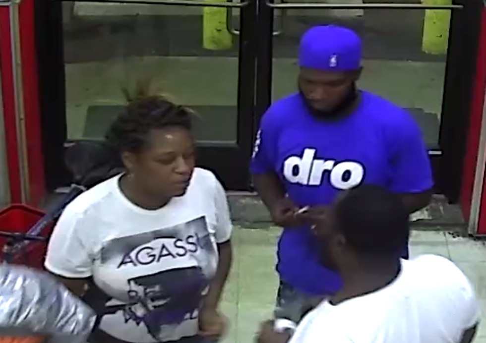 Cleveland police are looking to identify suspects involved in Lucky's Beverage assault where...