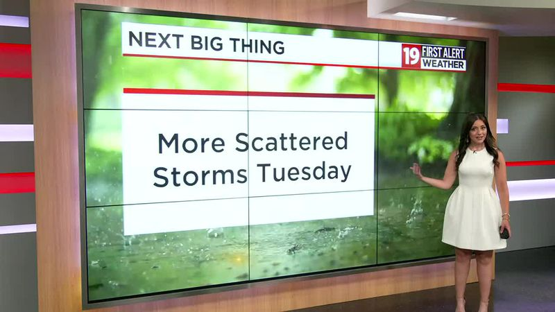 Northeast Ohio Weather: Humid, risk of storms every day this week