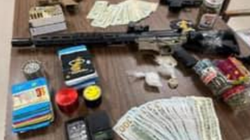 'Ghost guns,' meth, suspected heroin, marijuana seized in New Lyme Township
