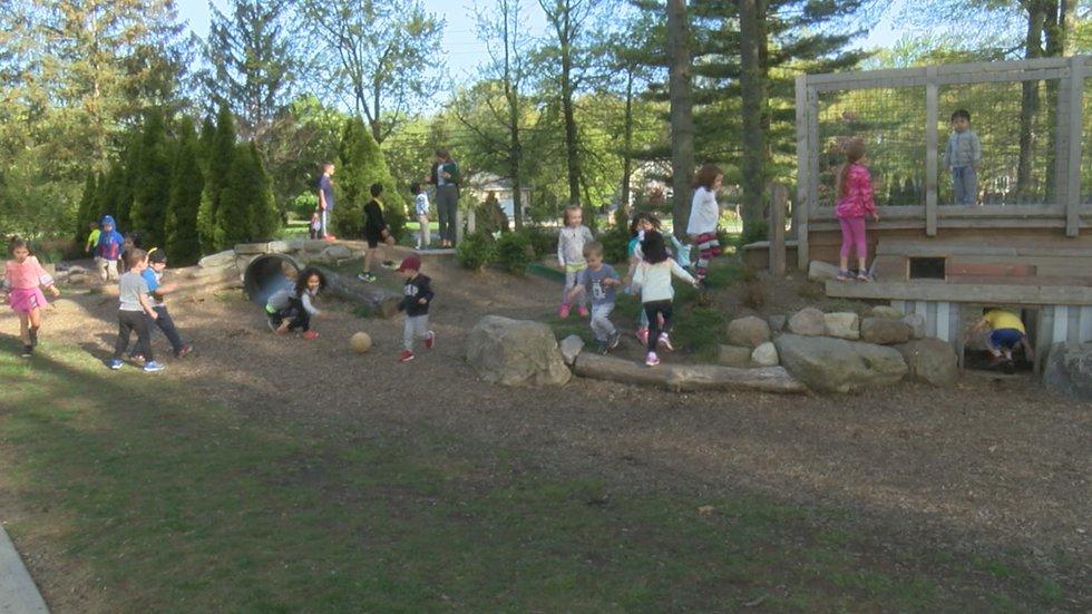 Montessori Children's School in Westlake does not use pesticides.