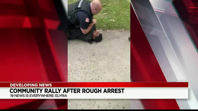 Elyria man in controversial arrest video wants officer fired for allegedly using excessive force