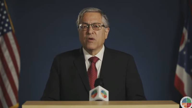 Cuyahoga County Executive Armond Budish delivers the State of the County Address