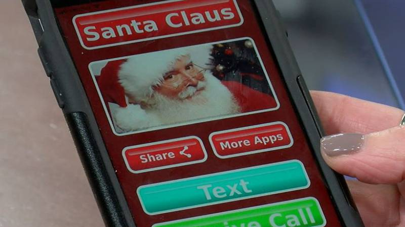 Santa texting app