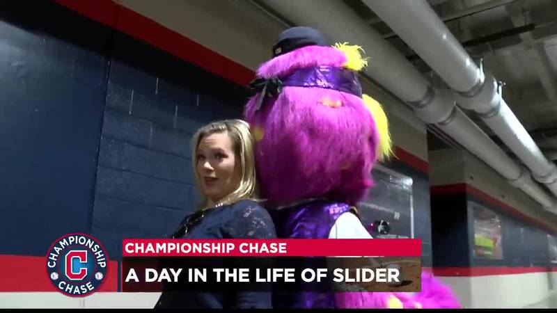 Lacey Crisp hangs out with Slider.