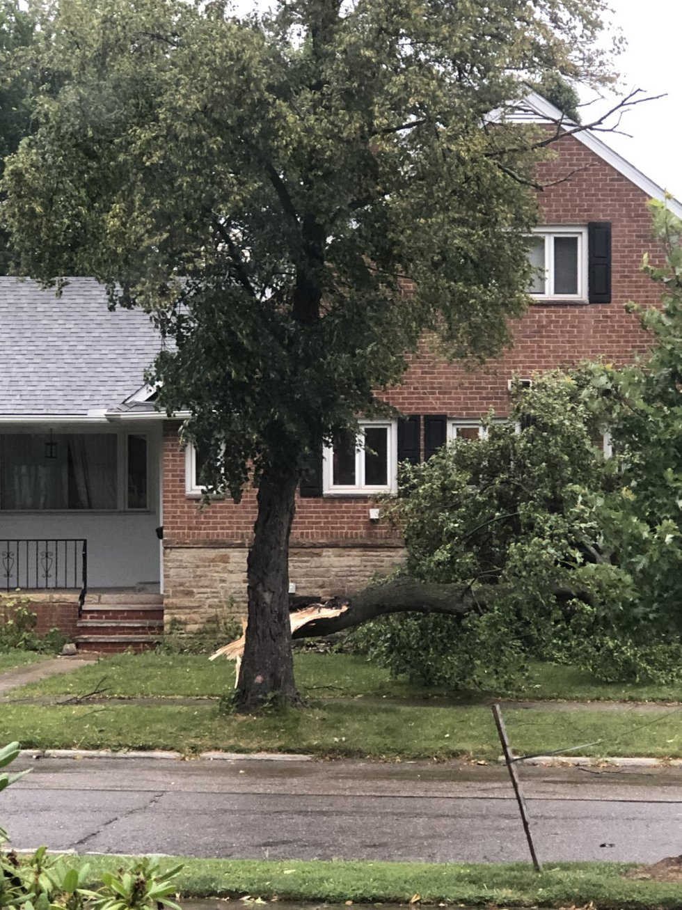 Aug. 11, 2021 storm damage: University Heights