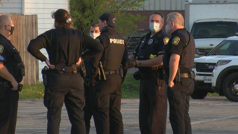 Lakewood police respond to a shooting at Madison Park