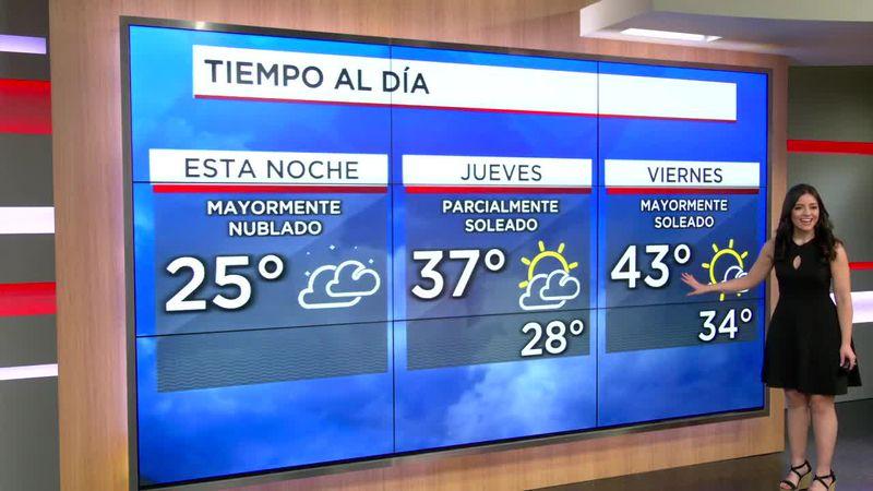 El Clima de Hoy: 24 de febrero
