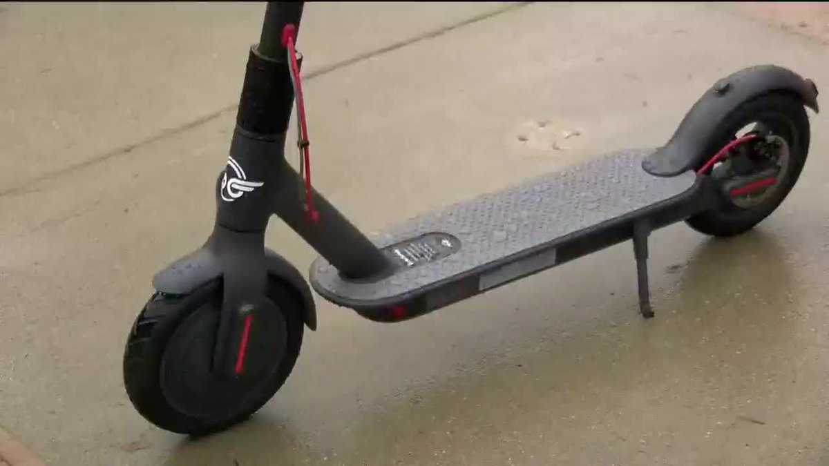 KOLD Downtown electric scooters