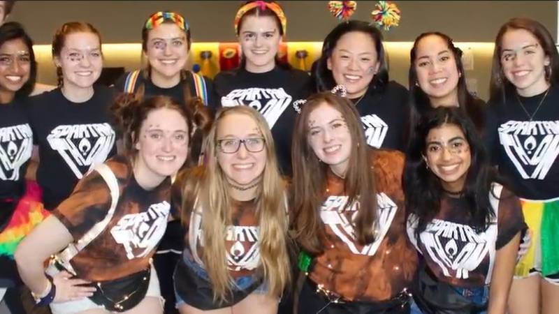 Case Western students are gearing up for their annual dance-a-thon to benefit local families.