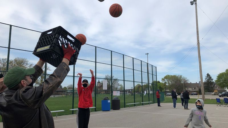 Kids showed up to the park to play basketball without realizing that authorities have taken...