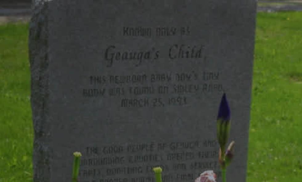 """Gravestone for """"Geauga's Child"""""""