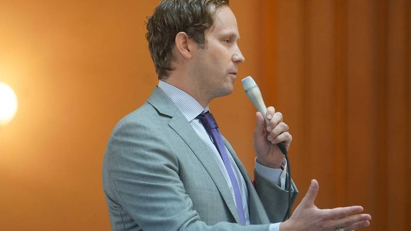 State Representative Casey Weinstein (D-Hudson) wants to fight hate crimes in Ohio.