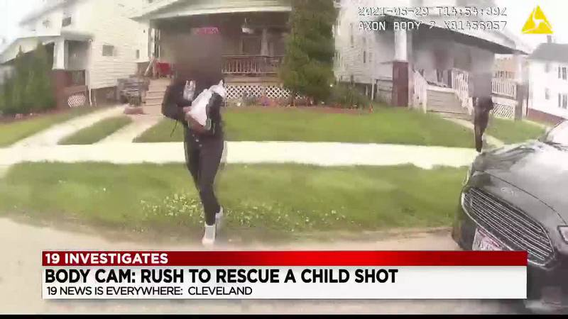 12-year-old shot while walking in her neighborhood; Cleveland sees six juveniles shot in the...