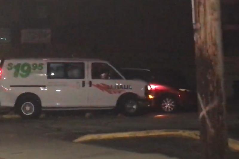 U-Haul hits utility pole, 2 cars in Lorain Avenue crash