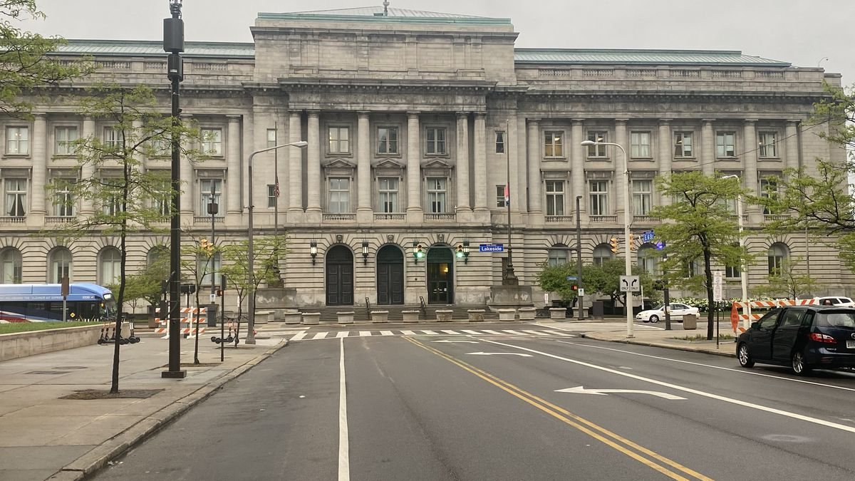 The door is open at Cleveland City Hall for a new mayor as Mayor Frank Jackson will not seek a...