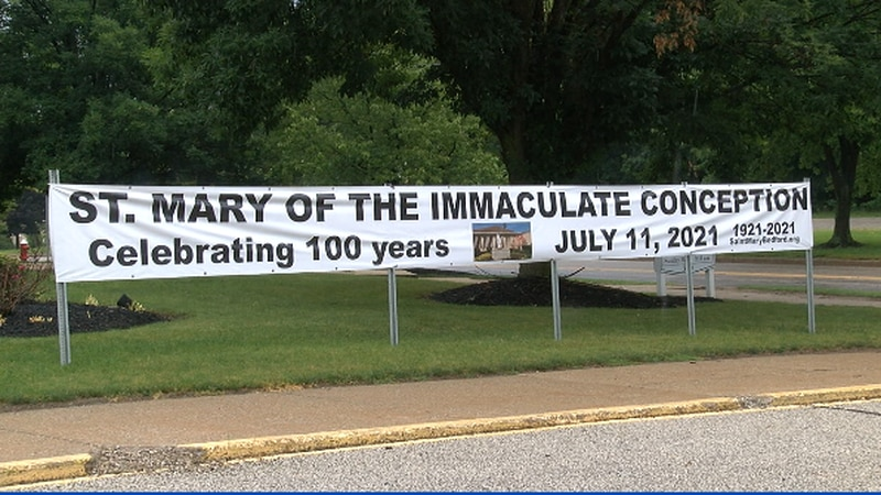 St. Mary's Immaculate Conception celebrates 100 years