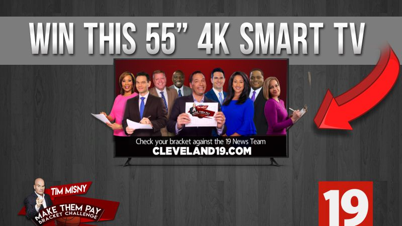 """Compete to win a 55"""" 4K Smart TV"""