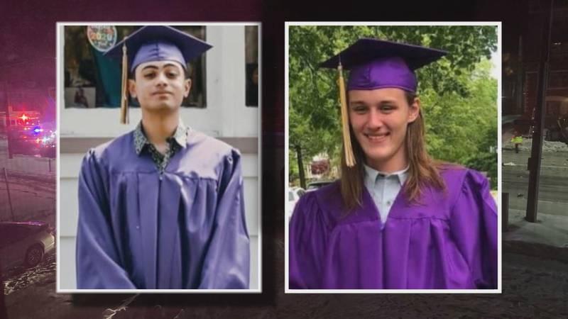 Alejandro Mercado (left) and Maximus Close (right) were killed in a crash on Sunday, Feb. 21 in...