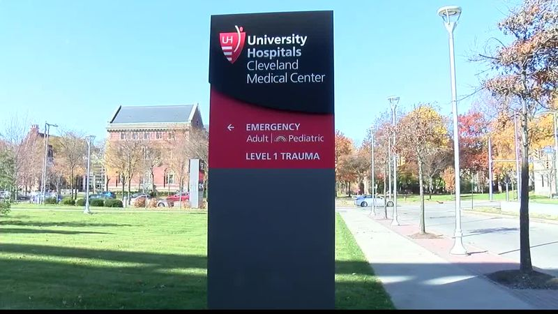 Officials from University Hospitals warn people about rising COVID-19 cases in Ohio