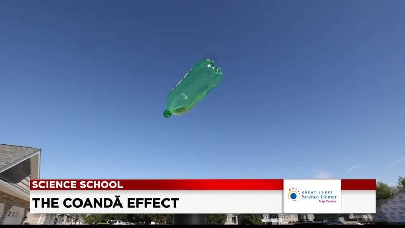 19 First Alert Science School: The Coandă effect