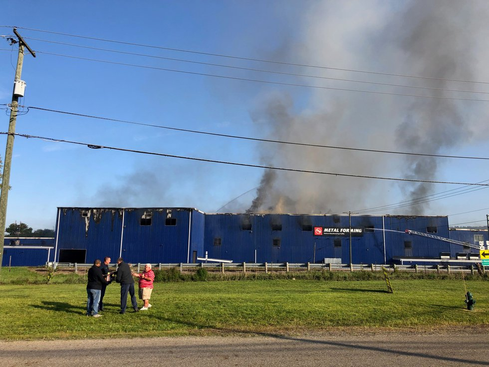 Fire at Colfor Manufacturing